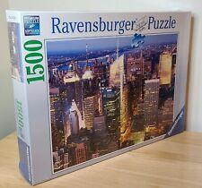 NEW SEALED Ravensburger 1500 Piece Jigsaw Puzzle Midtown Manhattan NYC No 162260