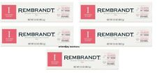 Lot of 5 Rembrandt Intense Stain Whitening Fluoride Toothpaste Mint EXP 9/2020