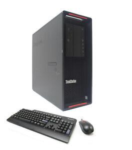 Lenovo P510 4-Core E5-1620v4 3.50GHz 64GB 512GB NVMe SSD 4TB Nvidia 2x K4000 3GB