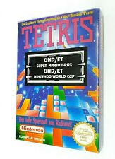 Nintendo NES Super Mario Bros Tetris World Cup 3 in 1 Exclusive ► Ultra Rare ◄
