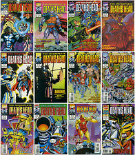 THE INCOMPLETE DEATH'S HEAD; Complete Full Run #1-12 Marvel Comics UK Doctor Who