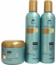Keracare Dry and Itchy Scalp Moisturizing Shampoo and Conditioner 8oz and 3.9oz