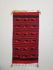 Genuine Oaxacan Zapotec Hand-Woven Rug