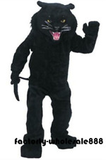 Halloween Big panther Mascot Costume sutis dress Party Cosplay game Adults size