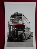 PHOTO  LONDON TRANSPORT  BUS NO RTW3168 2/5/70