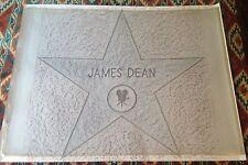 JAMES DEAN (2) Hollywood Walk of Fame Star 1993 Licensed Rubbings + Certificate