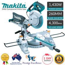 """Makita Sliding Compound Mitre Saw LS1018L 240V 260mm 10"""" Slide 1430W with Laser"""
