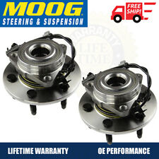 MOOG Front Wheel Hub & Bearing Left & Right Pair Set for Chevy GMC TAHOE 4WD