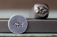 SUPPLY GUY 6mm Fish Metal Punch Design Stamp SGCH-196
