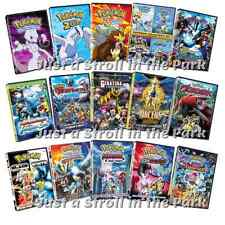 Pokémon: Complete Anime Movies 1-18 Pokemon Series 1-4 Box / DVD Set(s) NEW!