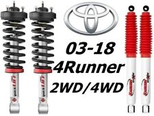 Rancho Quicklift Struts & RS5000 Rear Shocks For 03-18 Toyota 4Runner 2WD/4WD