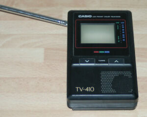 Casio TV-410V transportabler Fernseher 90er Jahre Kuriosität