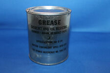Original WW2 Sealed Can of RAF Aircraft Grease, made in Chicago USA for the RAF