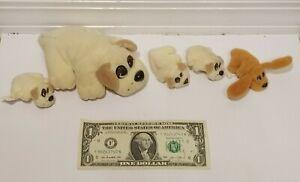 Vtg Pound Puppies Dog Puppy Family Plush Stuffed Animals Galoob Toys 1997 Lot