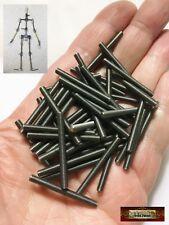 M00674x5 MOREZMORE HPA 50pcs M3 30 mm All Thread Rod Threaded M3*30 M3x30