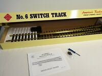 Aristocraft ART-30340 No.6 Switch Track G Scale/1 Gauge Brass Left Hand Manual