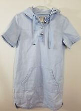Marc by Marc Jacobs chambray denim hoodie dress size xs womens