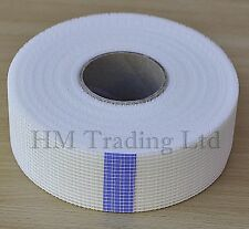 10m / 90m Long Plasterboard Tape Wall Joint Scrim Repair Crack patche Mesh