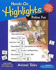Rebus Fun: Animal Tales - Hands-On Highlights - New Children's Picture/Word Game