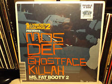 "MOS DEF + GHOSTFACE - MS. FAT BOOTY 2 (12"") 2000!!  RARE!!  BIG NOYD + PRODIGY!!"