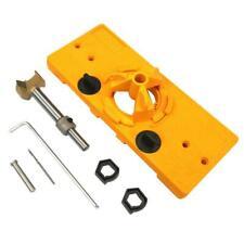 35MM Hinge Jig Forstner Bit Drill Guide Set For Kreg Door Hole Locator Durable