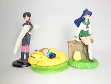 "InuYasha 2-3"" Figure 3pcs Official Authentic Bandai Japan k#12245"