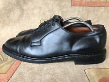 "Allen Edmonds ""Leeds"" Black Shell Cordovan Oxford Shoe Sz 11 D"