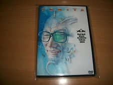 ISAO TOMITA INTERVIEW ENGLISH 2014 RBMA TOKYO DVD - SEALED