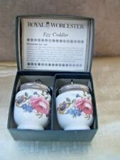 Egg Coddler White Boxed Royal Worcester Porcelain & China