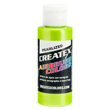 2oz Createx Pearl Lime 5313 - 2Z Airbrush Paint Color - Art