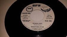 "SHOOTING STAR Geisha Girl / Just Gotta Bag ERA HAPPY FUNK 45 RECORD 7"" VINYL"