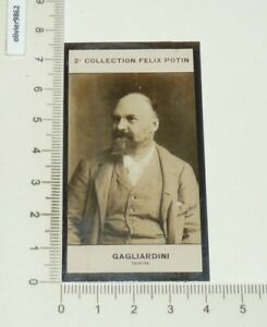 PHOTO IMAGE FELIX POTIN 2e ALBUM 1908 GAGLIARDINI ARTISTE PEINTRE