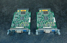 Lot of 2 Cisco 73-2847-03 WIC 2T Serial Interface Cards 800-03181-01     (3a08)