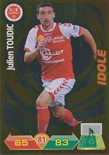 JULIEN TOUDIC # IDOLE STADE REIMS TRADING CARDS ADRENALYN PANINI FOOT 2013