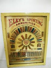 RARE ELEY'S SPORTING AMMUNITIONS BOARD C1910
