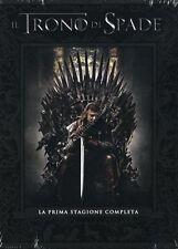TRONO DI SPADE - STAGIONE 1 COFANETTO 5 DVD NUOVO!