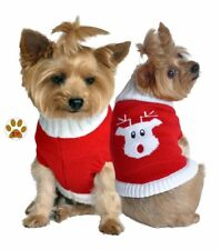 Rudolph Santa's Red Nosed Reindeer - Winter Weight Sweater - Dogs size Small