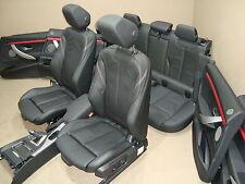 BMW F34 Lederausstattung RHD Sportsitze Sitze Seats Leder Leather DAKOTA SCHWARZ