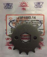 JT Front Sprocket 15T 428 Pitch JTF1550.15 Yamaha YZF-R 125 2008-2016