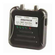 High Quality DVB-T Signal Strength Finder/Meter w/ F-Type Lead Signal Booster