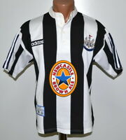 NEWCASTLE UNITED 1995/1996/1997 HOME FOOTBALL SHIRT JERSEY ADIDAS SIZE S ADULT