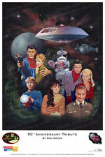 """Lost in Space - """"50th Anniversary Tribute"""" Print - Ron Gross"""