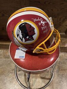 🔥Mark Rypien Washington Redskins Signed Full Size Replica Helmet - PSA/DNA🔥