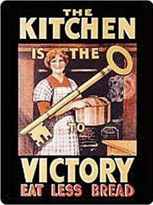 Küche Ist Schlüssel Sich Victory Stahl Kühlschrank Magnet (Hb) Reduziert