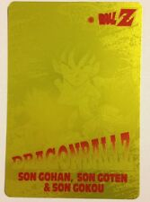 Dragon Ball Z PP Card Gold 1178