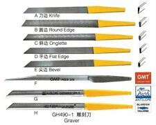 8pcs Different Gravers High Speed Steel For Jewelry & Engravers tools Equipments