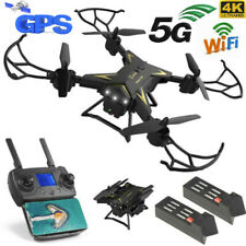 KY601G 5G GPS 2 Batteries WIFI FPV 4K HD Camera 2.4Ghz Quadcopter RC Drone Plane