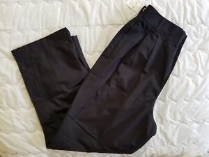 1 NWT ZERO RESTRICTION GORE-TEX WOMEN'S PANTS, SIZE: MEDIUM, COLOR: BLACK (J93)