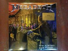 Megadeth -The System has fail -Numbered Orange-VINYL/LP LTD.EDITION - New+Sealed