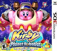 NUOVO Kirby: PLANET ROBOBOT (Nintendo 3DS, 2016)
